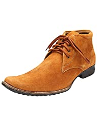 Savie Shoe Men's Synthetic-Suede Leather Shoe - B00WI0SU66