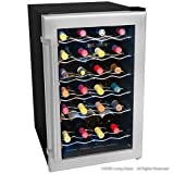 Deluxe 28 Bottle Wine Cooler Refrigerator