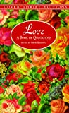 Love: A Book of Quotations (Dover Thrift Editions)