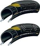 Continental(コンチネンタル) グランプリ アタック2&フォース2 セット 700×22/24C(622) フォルダブル  ブラック