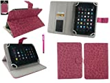 Emartbuy® Suntech TAB785 DUAL 7 Zoll Tablet Universalbereich FauxWildLeder Leopard