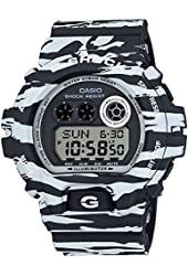 CASIO Men's Watch G-SHOCK White and Black Series GD-X6900BW-1JF