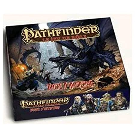 Asmodee - BBEPFBOX01 - Pathfinder JDR - Boîte d'Initiation 3Ème Impression