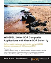 WS-BPEL 2.0 for SOA Composite Applications with Oracle SOA Suite 11g Book Cover
