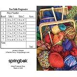 Knitter's Delight Bridge Tallies (12 Pack) - 2 And 3 Table Progressive