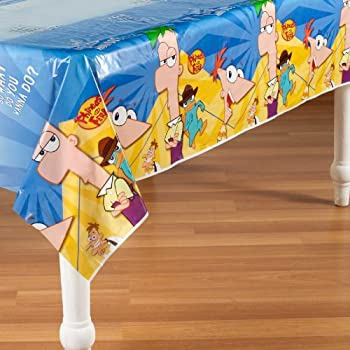 Phineas and Ferb Plastic Tablecover - Standard