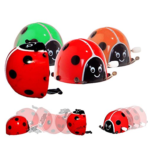 Toy-Cubby-Wind-Up-Colorful-Flipping-Bugs-6-pieces