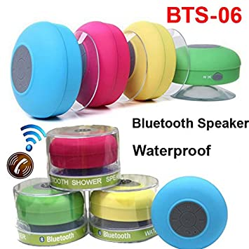 higadgettm higadget water proof bluetooth shower speaker with mic wireless portable stereo best for bath