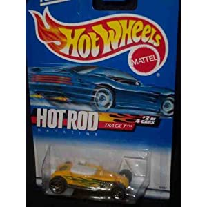 Hot Rod Magazine Series 2 Track T Malaysia 2000-6 Collectible Collector Car Mattel Hot Wheels 1:64 Scale