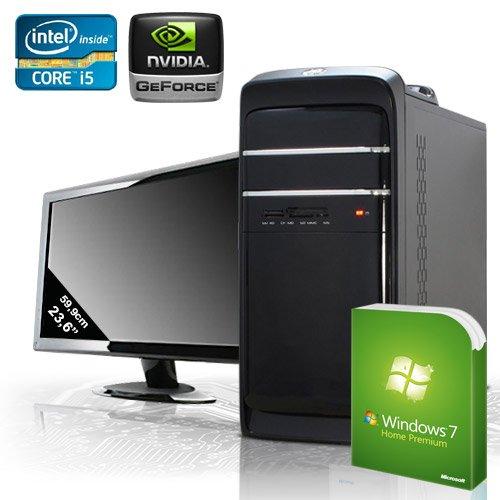 KCShome premium [184211] - Komplett-Set PC mit 59.9cm (23.6