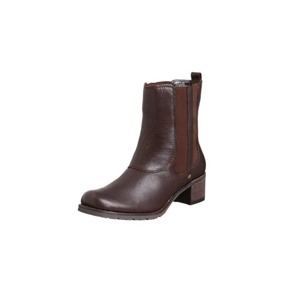 Kenneth Cole REACTION Womens Pack Attack Ankle Boot,Dark Brown,4 M