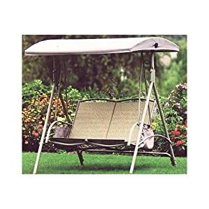 Replacement Canopy For Garden Treasures 2 Person Swing Garden Outdoors