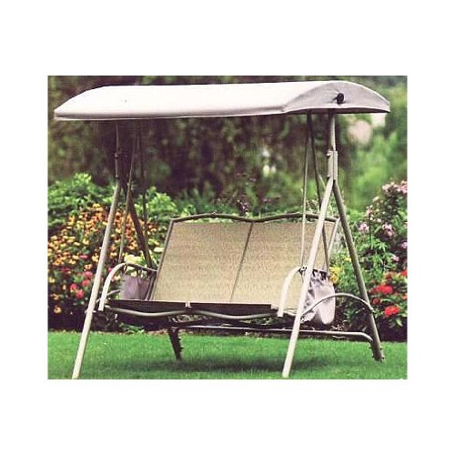 Replacement Canopy For Garden Treasures 2 Person Swing Gazebos Patio And Furniture