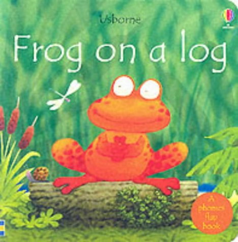 Frog on a Log (Usborne Easy Words to Read)