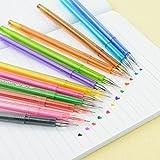 12 Colors Cartoon Fresh Star Diamond Color Gel Pen