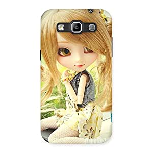 Special Cute Smiling Doll Multicolor Back Case Cover for Galaxy Grand Quattro