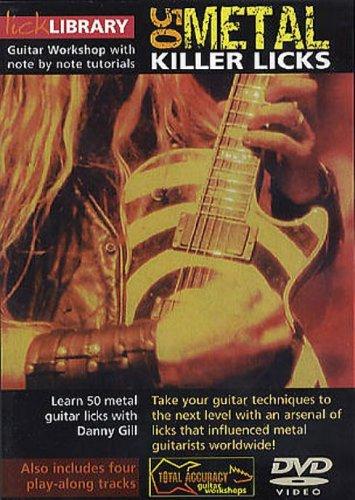 50 Killer Metal Licks [DVD] [Region 1] [NTSC]
