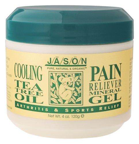 Jason Natural Cosmetics - Tea Tree Oil Pain Gel, 4 oz gel