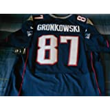 New England Patriots Rob Gronkowski On-field Jersey, Blue