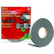 Do it Best Heavy Density PVC Closed Cell Vinyl Foam Weatherstrip Tape-3/4X3/16X1