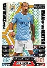 Match Attax 2013/2014 Pablo Zabaleta Manchester City 13/14 Man Of The Match