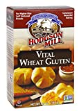 Hodgson Mill Vital Wheat Gluten 6.5-Ounce Boxes (Pack of 8), For Higher Rise, Soft Textured Breads, with Vitamin C, Non-GMO, Kosher