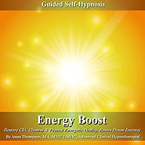 Energy Boost Guided Self Hypnosis Audiobook
