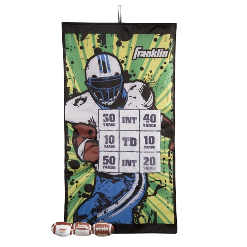 Franklin Sports Football Target Indoor Pass Game, 46 x 25-Inch