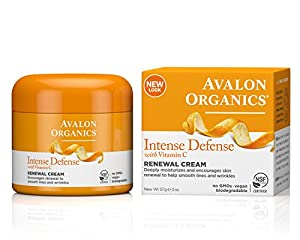 Avalon Organics Vitamin C Real Creme , 2 Ounce Bottle by Avalon Active Organics