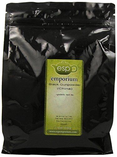 Esp Emporium China Black Tea, Gunpowder, 17.64 Ounce