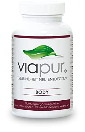 viapur® BODY - 120 Kapseln, Aminosäuren, Mineralstoffe und Vitamine