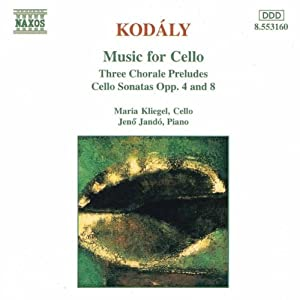 Kodly Music For Cello from Naxos
