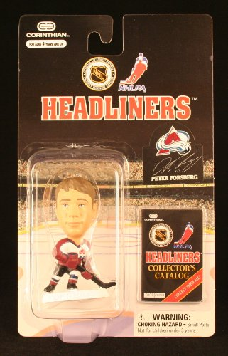 PETER FORSBERG / COLORADO AVALANCHE * 3 INCH * 1997 NHL Headliners Hockey Collector Figure