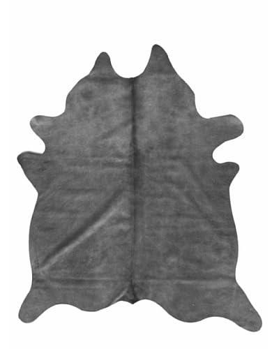 Natural Brand Geneva Cowhide Rug, Grey, 6' x 7'