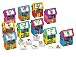 Find-The-Rhymes Activity Houses