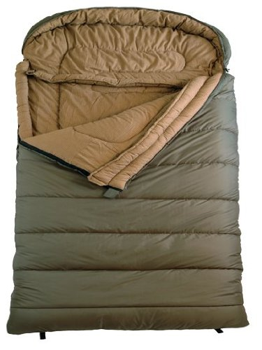 TETON Sports Mammoth Queen Size Flannel Lined Sleeping Bag (94
