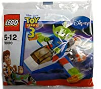 Lego - 30070 - Disney Pixar Toy Story 3 - Alien and Space Ship (34pcs) Bagged by LEGO