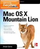 img - for How to Do Everything Mac OS X Mountain Lion book / textbook / text book