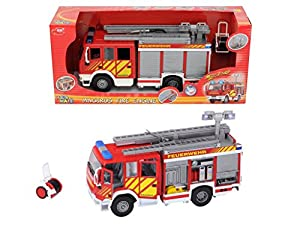 Amazon.com: Dickie Toys International Iveco Fire Engine (Try Me), 12