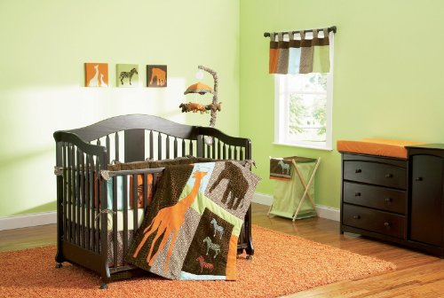 Summer Infant Crib Set, 4 Piece, Zaire