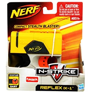 nerf n strike reflex ix 1 dart blaster. Black Bedroom Furniture Sets. Home Design Ideas