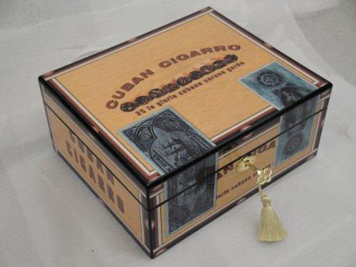 cuban cigarro humidor