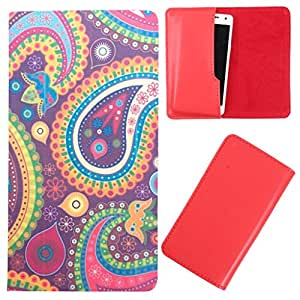 DooDa - For Acer Liquid Z530 PU Leather Designer Fashionable Fancy Case Cover Pouch With Smooth Inner Velvet