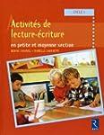 Activit�s de lecture et d'�criture en...