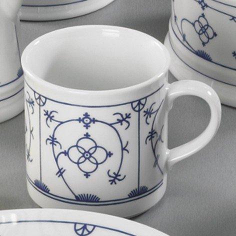 triptis porzellan dekor 39 indisch blau 39 kaffeebecher 1 stck. Black Bedroom Furniture Sets. Home Design Ideas