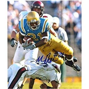 Maurice Jones-Drew Autographed UCLA Bruins (Blue Jersey) 8x10 Photo