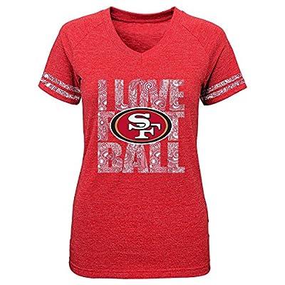 NFL San Francisco 49ers Team Love Triblend V-Neck Tee