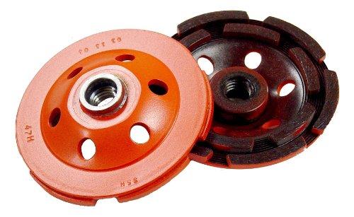 Diamond Products Core Cut 07404 5-Inch Single Row Heavy Duty Orange Segmented Cup Grinder
