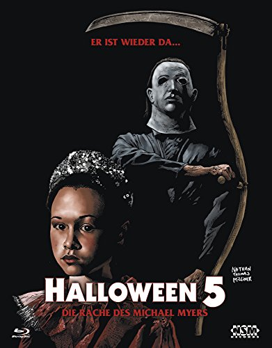 Halloween 5 (Blu-Ray) Hartbox - Limited 333 Edition Cover B