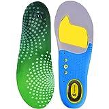 Feetmat Premium Shoe Insoles,Orthotics Soles for Flat Feet,Arch Comfort Sport Footbeds,Mens Sizes 8-12